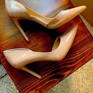 INC nude heels 4 inch size 8